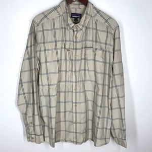 Patagonia Long Sleeve Button Down Vented Hiking